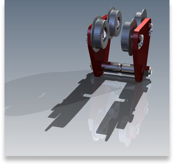 This image shows a rendered 2D to 3D CADD Conversion