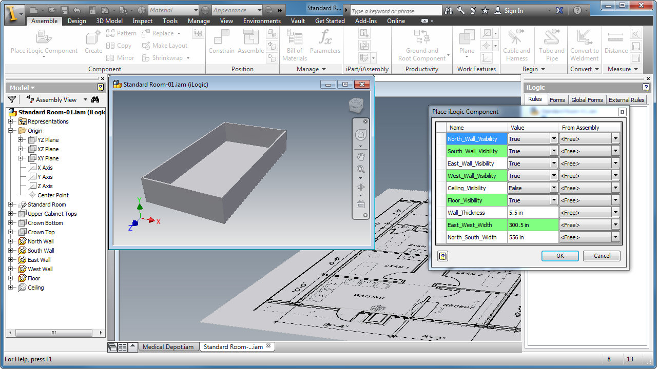 Placing And Configuring The Rooms Applied Design