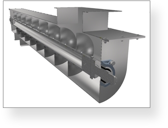 Screw Conveyor Model