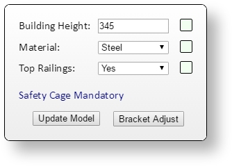 Custom Ladder Configurator